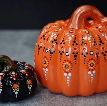 Mandala Pumpkin Pair Painting & Wine at the Vineyard!