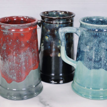 Beer Stein Stoneware Painting at the Vineyard!