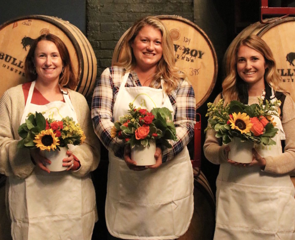 Flower Arranging Class with Alice's Table