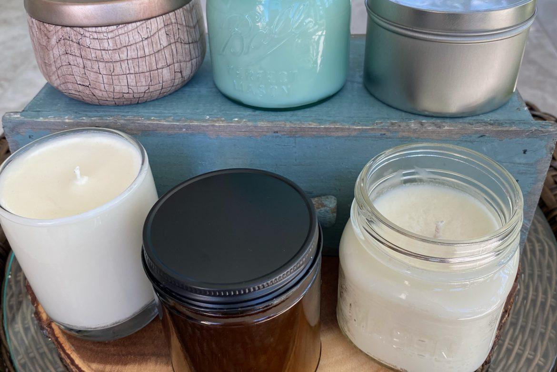 Farm to Wick -custom candle making class